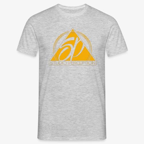 SP LOGO PERCEPTION CLOTHES ORANGE - T-shirt Homme