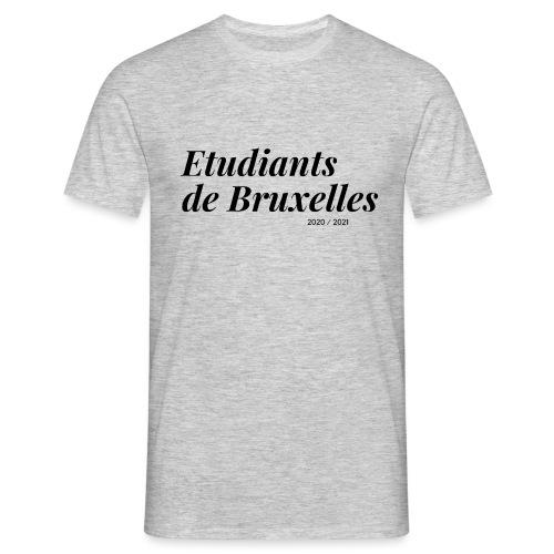 Etudiants de Bruxelles Noir - T-shirt Homme
