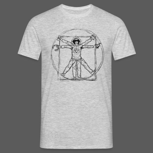 The Vitruvian Gamer - Männer T-Shirt