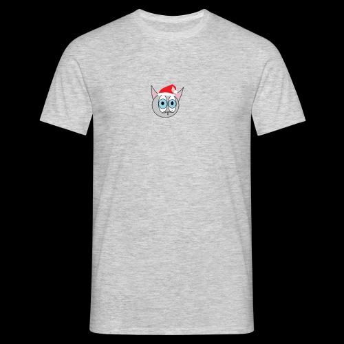 Katze GMBH LOGO - Weihnachtsedition - Männer T-Shirt