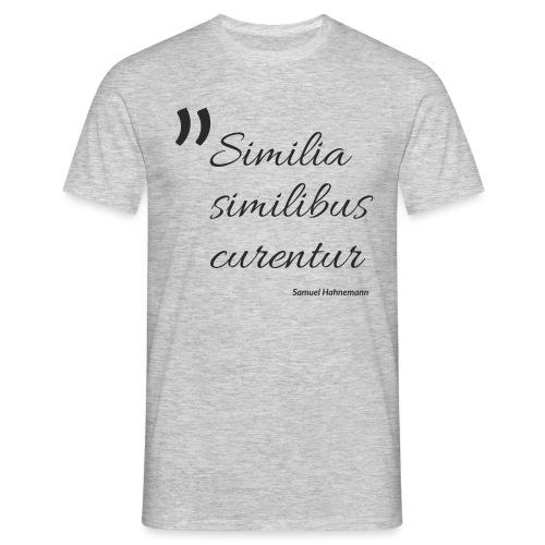 Similia similibus curentur Print - Männer T-Shirt