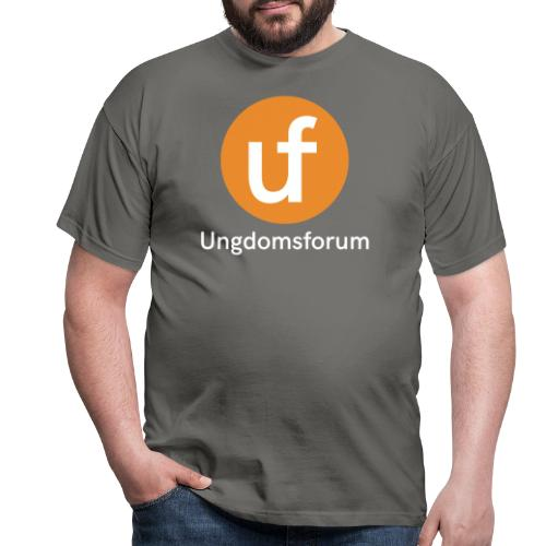 UF logo - T-skjorte for menn