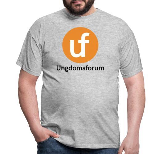 UF logo - T-skjorte for menn