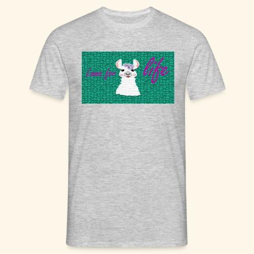 lama / alpaca - Männer T-Shirt