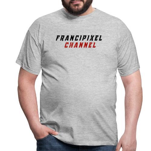 Francipixel CHANNEL - BLACK/RED - Maglietta da uomo
