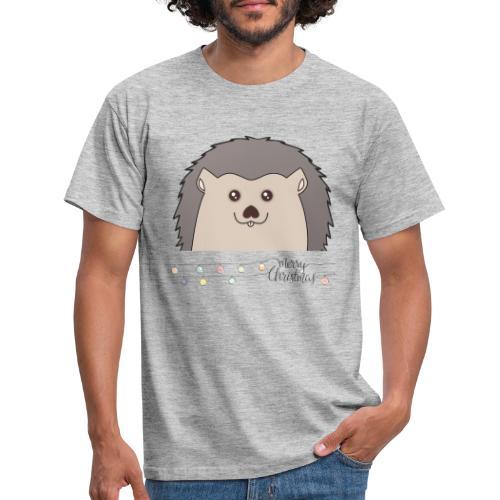 Hed wünscht Merry Christmas - Männer T-Shirt
