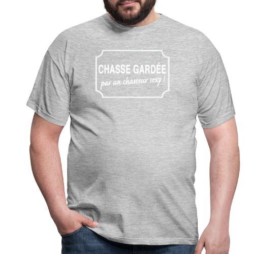 CHASSE GARDÉE par un chasseur sexy ! - T-shirt Homme