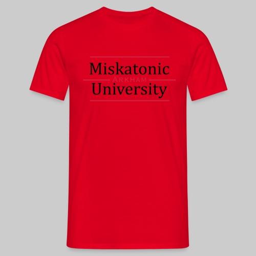 Miskatonic University - Männer T-Shirt