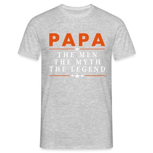 PAPA THE LEGEND - Men's T-Shirt