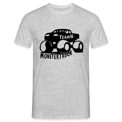 logo mtteam16 noir - T-shirt Homme