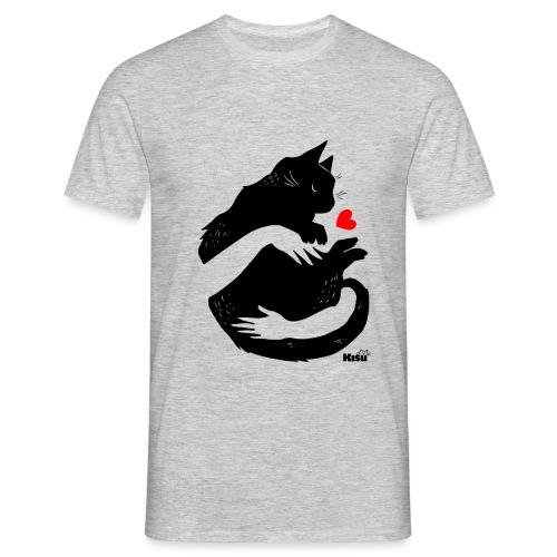 Halaus musta - Miesten t-paita