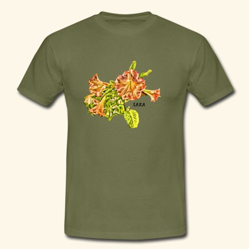 Trompetenbaum Blüten von S.A.R.A. - Männer T-Shirt