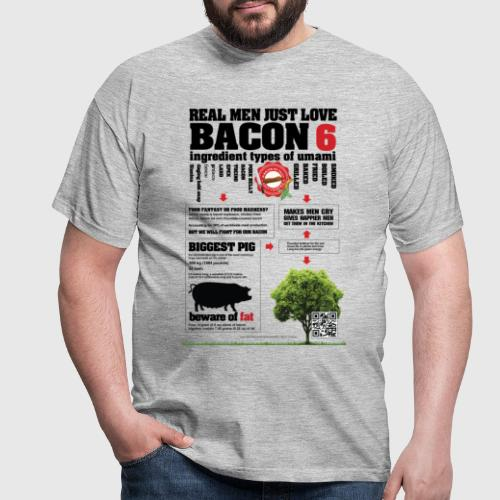 BACONPOSTER png - Herre-T-shirt