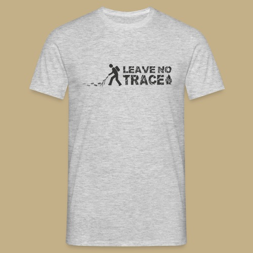 Leave No Trace - Männer T-Shirt