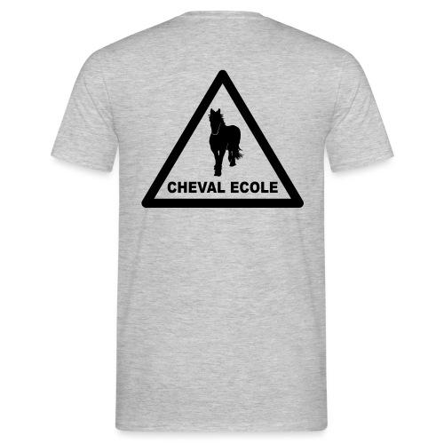 chevalecoletshirt - T-shirt Homme