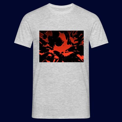 crazy red - Männer T-Shirt