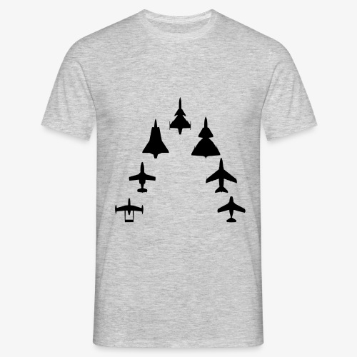 Swedish Air Force - Jet Fighter Generations - T-shirt herr