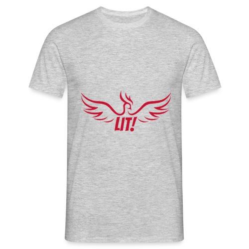 Lit-Shirt - Männer T-Shirt