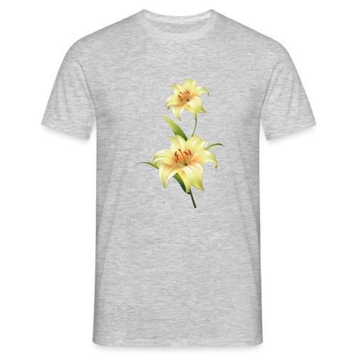 flor - Camiseta hombre