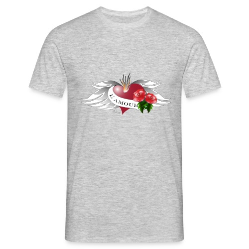 L' Amour - Die Liebe - Männer T-Shirt