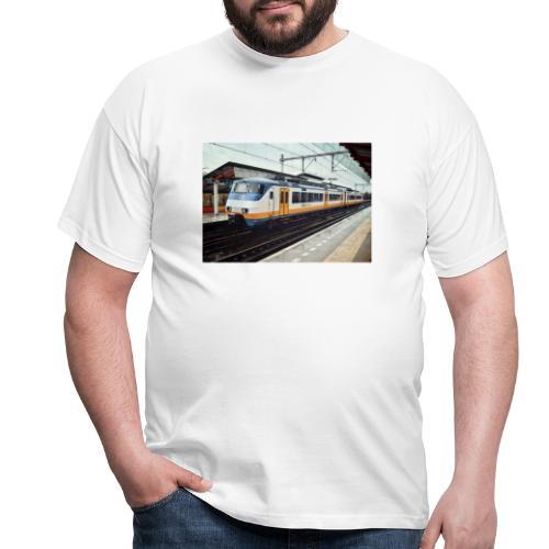 Sprinter in Almere Parkwijk - Mannen T-shirt
