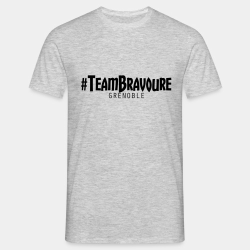 TeamBravoure2 png - T-shirt Homme