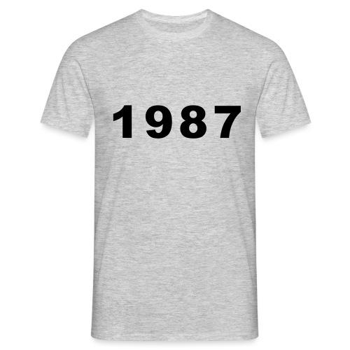 1987 - Mannen T-shirt