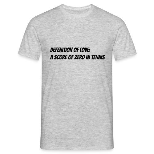Tennis Love sweater women - Mannen T-shirt