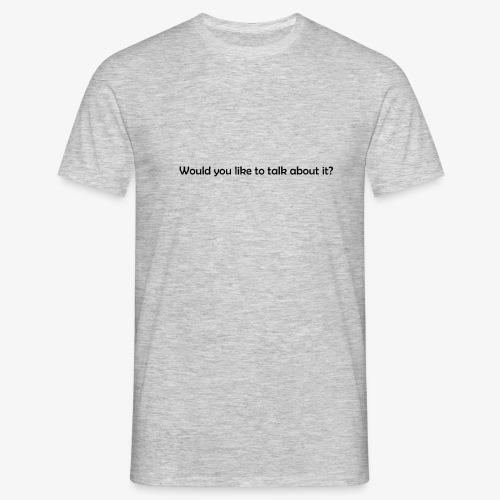talk - Koszulka męska
