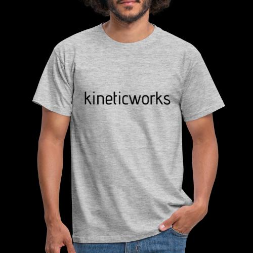 kineticworks black - Männer T-Shirt