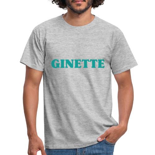 Ginette solo indigo - T-shirt Homme