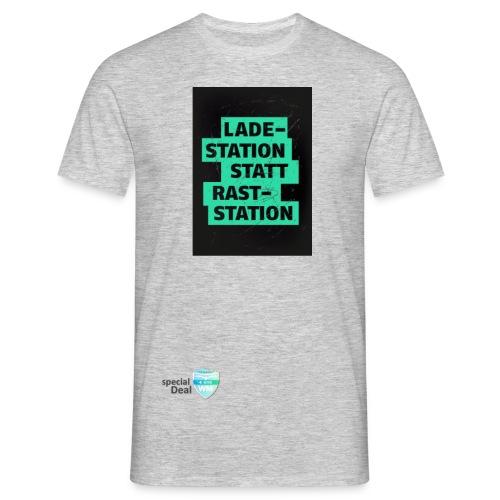 E-Bike WM 2019 Botschafter LADESTATION - Männer T-Shirt