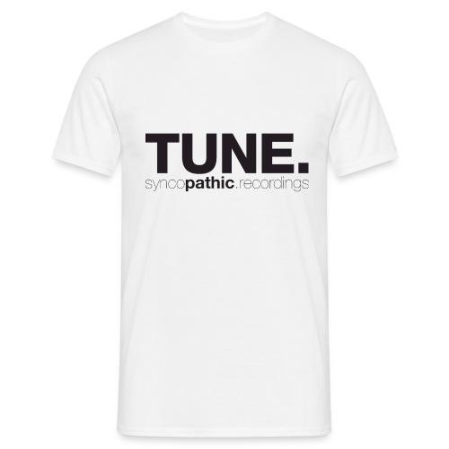 TUNE Black - Men's T-Shirt