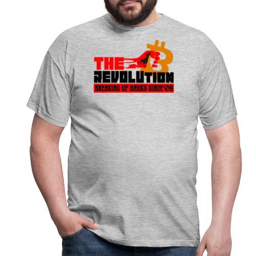 Die Bitcoin Revolution - BTC Revolution - Männer T-Shirt