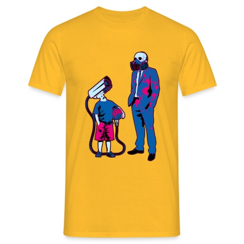 Littele Brother Big Brother - Mannen T-shirt