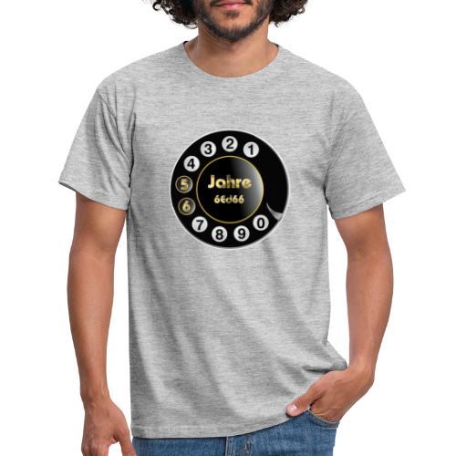 Wählscheibe - Männer T-Shirt