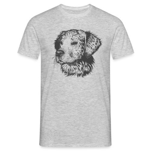 Mirada canina - Camiseta hombre