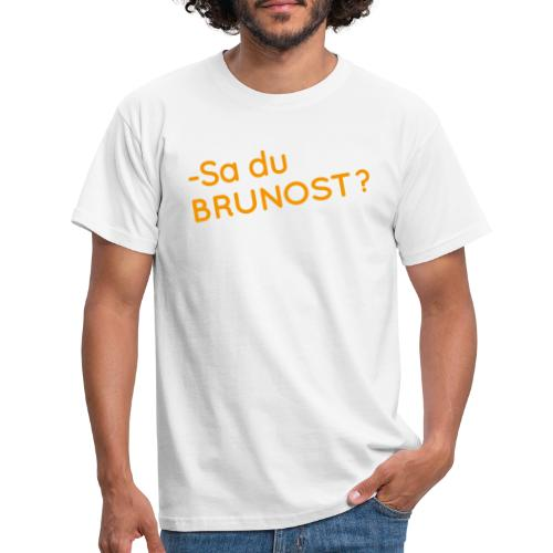 Brunost - T-skjorte for menn