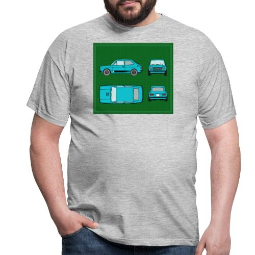 127 azul - Camiseta hombre