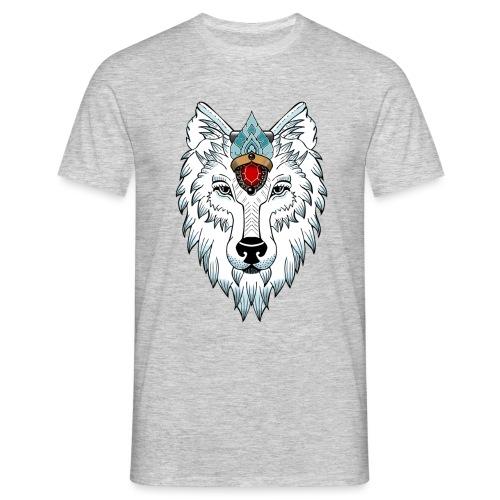female wolf newschool - T-shirt Homme