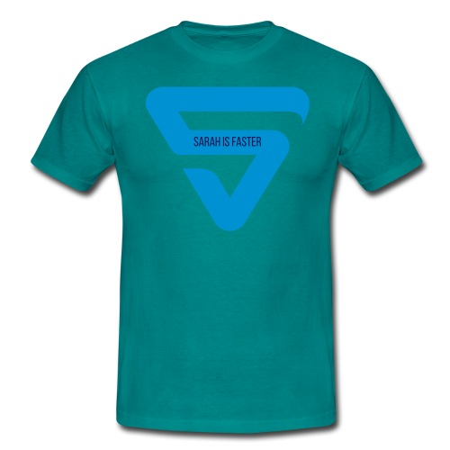 Sarah is Faster - T-shirt Homme
