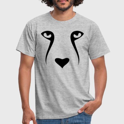 Tête de chien - T-shirt Homme