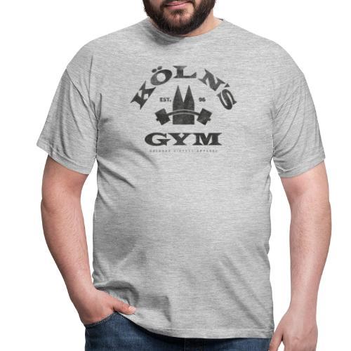 Köln's Gym lustiges Köln Retro Fitness Iron Design - Männer T-Shirt