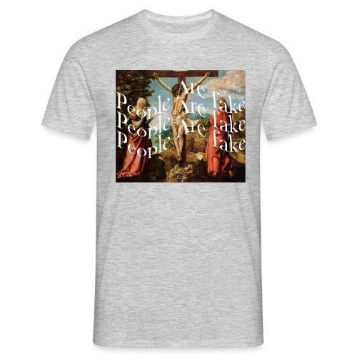 vaporwave christ - Männer T-Shirt