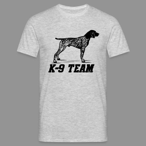 K-9 Team - German Shorthaired Pointer - Men's T-Shirt