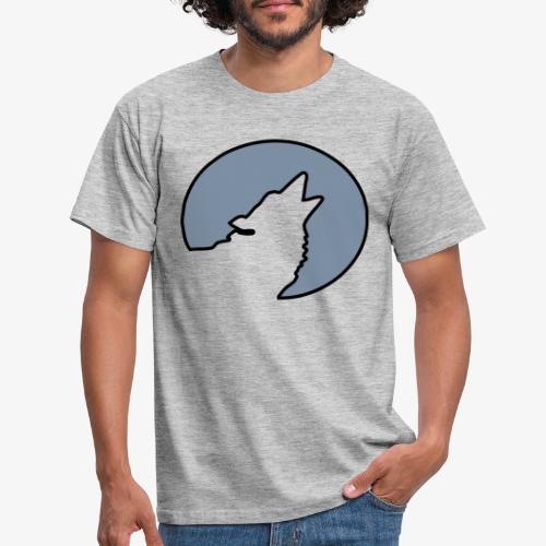 Moonwolf alt - Männer T-Shirt