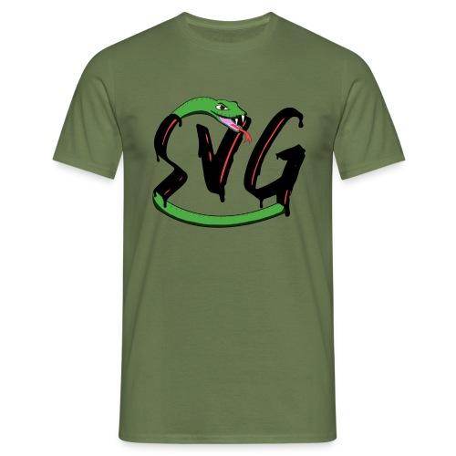 Savage Snake - Mannen T-shirt