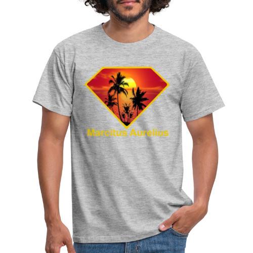 Sun - Männer T-Shirt