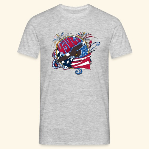 4jul - Camiseta hombre