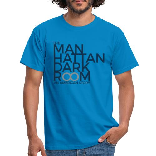 THE MANHATTAN DARKROOM BLEU GRIS - T-shirt Homme